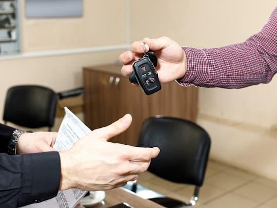 Rejestracja auta